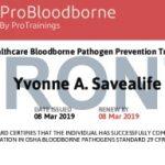 Bloodborne Pathogens Certification